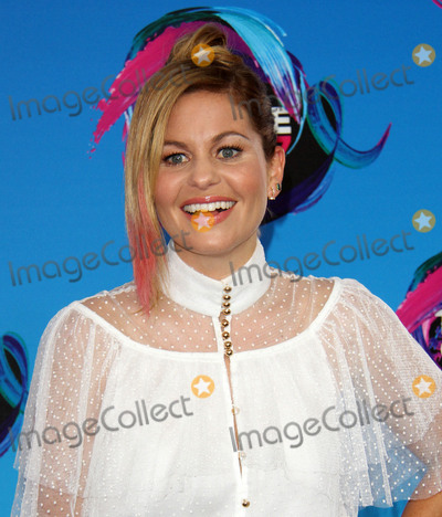 Candace Cameron Photo - 13 August 2017 - Los Angeles California - Candace Cameron-Bure Teen Choice Awards 2017 Arrivals held at The Galen Center in Los Angeles Photo Credit AdMedia