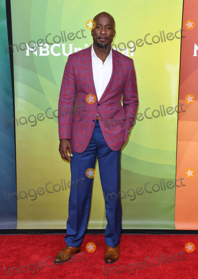Akbar Gbajabiamila Photo - 02 May 2018 - Universal City California - Akbar Gbajabiamila  2018 NBCUniversal Summer Press Day held at Universal Studios Photo Credit Birdie ThompsonAdMedia