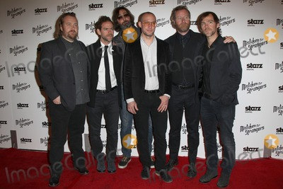 Aaron Dessner Photo - 25 March 2014 - Los Angeles California - Bryce Dessner Bryan Devendorf Scott Devendorf Matt Berninger Aaron Dessner Los Angeles Screening Of Mistaken For Strangers Los Angeles Gala Dinner Held at The Shrine Auditorium Photo Credit FSadouAdMedia