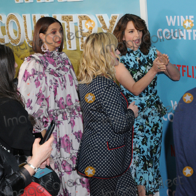 Tina Fey Photo - Maya Rudolph Amy Poehler and Tina Fey at the World Premiere of WINE COUNTRY at the Paris Theater in New York New York  USA 08 May 2019