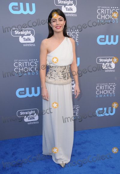 Alessandra Mastronardi Photo - 11 January 2018 - Santa Monica California - Alessandra Mastronardi 23rd Annual Critics Choice Awards held at Barker Hangar Photo Credit Birdie ThompsonAdMedia