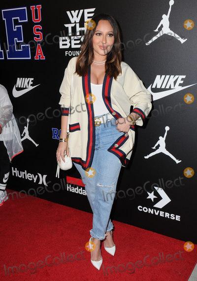 Adrienne Bailon Photo - 15 February 2018 - Los Angeles California - Adrienne Bailon Rookie USA Fashion Show held at MILK Studios Photo Credit Birdie ThompsonAdMedia