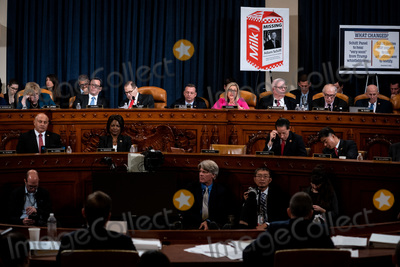 Hurts Photo - Ashley Hurt Callen Republican staff counsel speaks during a House Judiciary Committee hearing considering articles of impeachment against US President Donald J Trump on Capitol Hill in Washington DC on December 9 2019 Credit Erin Schaff  Pool via CNPAdMedia