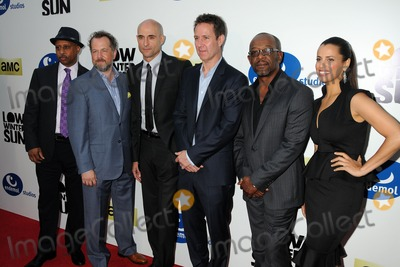 Athena Karkanis Photo - 25 July 2013 - Hollywood California - Ruben Santiago-Hudson David Costabile Mark Strong Chris Mundy Lennie James Athena Karkanis Low Winter Sun Los Angeles Premiere Screening held at Arclight Cinemas Photo Credit Byron PurvisAdMedia