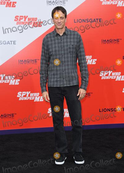 Tony Hawks Photo - 25 July 2018 - Westwood California - Tony Hawk The Spy Who Dumped Me Los Angeles Premiere held at the Fox Village Theater Photo Credit Birdie ThompsonAdMedia