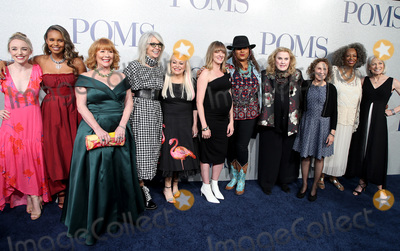 Alisha Boe Photo - 01 May 2019 - Los Angeles California - Alexandra Ficken Alisha Boe Patti French Diane Keaton Jacki Weaver Pam Grier Celia Weston Rhea Perlman Carol Sutton Ginny MacColl Poms World Premiere held at Regal LA Live Photo Credit Faye SadouAdMedia