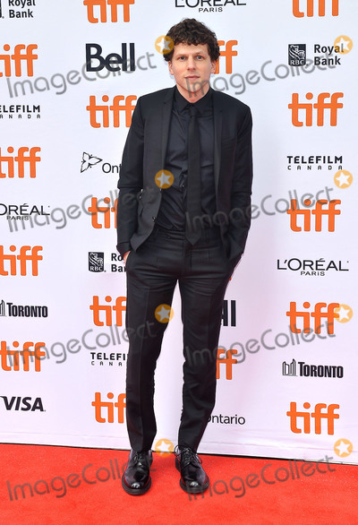 Jesse Eisenberg Photo - 08 September 2018 - Toronto Ontario Canada - Jesse Eisenberg The Hummingbird Project Premiere - 2018 Toronto International Film Festival held at the Princess of Wales Theatre Photo Credit Brent PerniacAdMedia