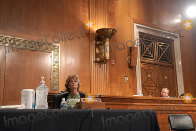 Alaska  Photo - United States Senator Lisa Murkowski (Republican of Alaska) is seen during a Senate Health Education Labor and Pensions Committee hearing on Tuesday June 23 2020 to discuss the lessons learned during the coronavirus to prepare for the next pandemicCredit Greg Nash  Pool via CNPAdMedia