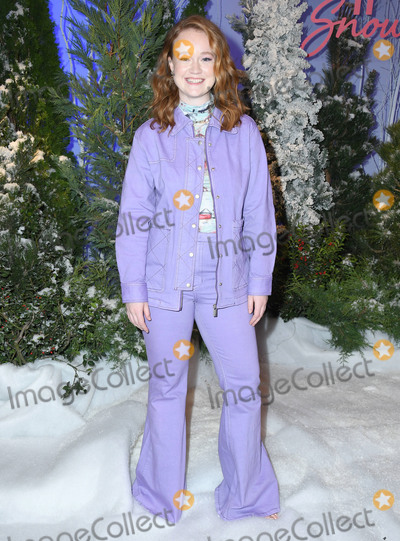 Four Seasons Photo - 01 November 2019 - Beverly Hills California - Liv Hewson Netflixs Let It Snow Photo Call held at Four Season Hotel Photo Credit Birdie ThompsonAdMedia