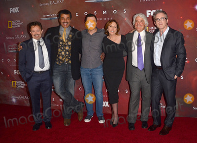 Ann Druyan Photo - 04 March 2014 - Los Angeles California - Jason Clark Neil deGrasse Tyson Seth MacFarlane Ann Druyan Mitchell Cannold Brannon Braga  Cosmos A Spacetime Odyssey Premiere Screening at The Greek Theater in Los Angeles Photo Credit Birdie ThompsonAdMedia