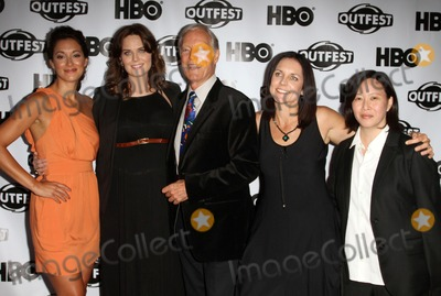 Angelique Cabral Photo - 17 July 2011 - West Hollywood California - Angelique Cabral Emily Deschanel Richard Chamberlain Anne Renton Kim Yutani 2011 Outfest Film Festival Screening Of The Perfect Family Closing Night- Arrivals  Held At The DGA Theatre Photo Credit Kevan BrooksAdMedia