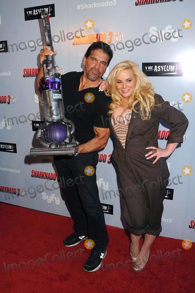 Cindy Margolis Photo - 22 July 2015 - Westwood California - Lou Ferrigno Cindy Margolis Sharknado 3 Oh Hell No Los Angeles Premiere held at iPic Theaters Photo Credit Byron PurvisAdMedia