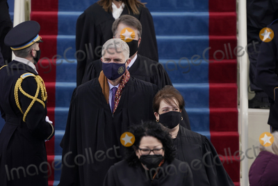 Supremes Photo - Supreme Court Justices arrive for the 59th Presidential Inauguration at the US Capitol in Washington Wednesday Jan 20 2021 (AP PhotoPatrick Semansky Pool)AdMedia