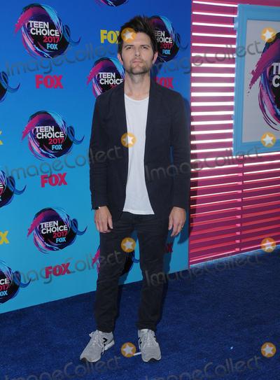 Adam Scott Photo - 13 August  2017 - Los Angeles California - Adam Scott Teen Choice Awards 2017 held at the Galen Center in Los Angeles Photo Credit Birdie ThompsonAdMedia