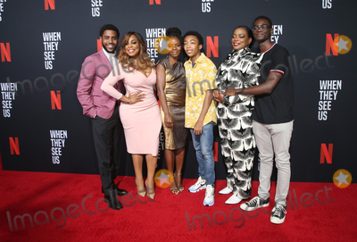 Asante Blackk Photo - 11 August 2019 - Los Angeles California - Jharrel Jerome Niecy Nash Marsha Stephanie Blake Asante Blackk Aunjanue Ellis Ethan Herisse When They See Us for your consideration Los Angeles 2019 - Day 1 held at Paramount Theatre Photo Credit FSadouAdMedia