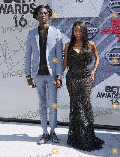 Young Thug Photo - 26 June 2016 - Los Angeles Young Thug Arrivals for the 2016 BET Awards held at the Microsoft Theater Photo Credit Birdie ThompsonAdMedia
