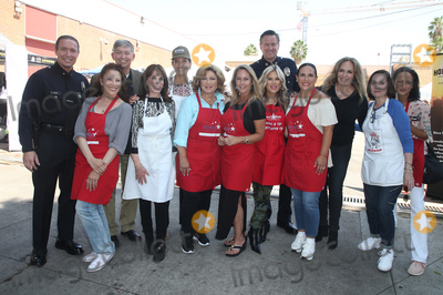 Amy Aquino Photo - 06 September 2018-  Hollywood California - Leron Gubler Kate Linder Amy Aquino Anglica Mara Erin Murphy Ellen K Angelica Vale Catherine Bach Ana Martinez Anne-Marie Johnson Captain Cory Palka At Hollywood Chamber Of Commerces 24th Annual Police and Firefighter appreciation Day held at LAPD Hollywood Division Photo Credit Faye SadouAdMedia