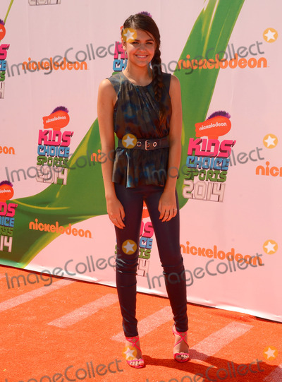 Amber Montana Photo - 17 July 2014 - Los Angeles California - Amber Montana Arrivals for the Nickelodeon Kids Choice Sports Awards 2014 held at UCLAs Pauley Pavilion in Los Angeles Ca Photo Credit Birdie ThompsonAdMedia