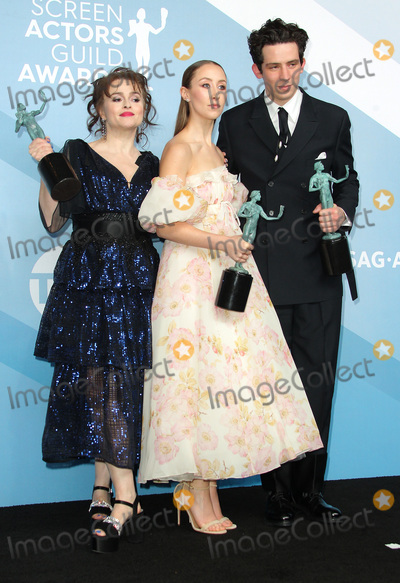Helena Bonham Photo - 19 January 2020 - Los Angeles California - Josh OConnor Erin Doherty Helena Bonham Carter 26th Annual Screen Actors Guild Awards held at The Shrine Auditorium Photo Credit AdMedia