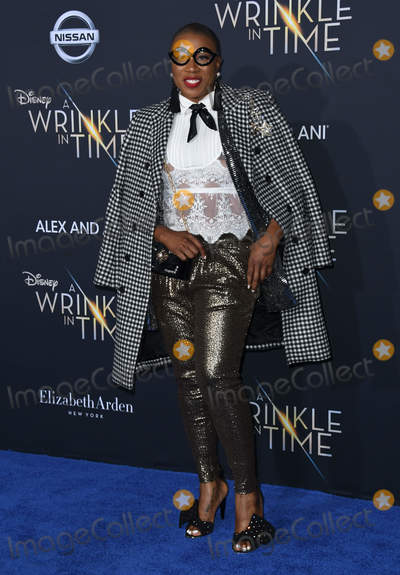 Aisha Hinds Photo - 26 February 2018 - Hollywood California - Aisha Hinds Disneys A Wrinkle In Time World Premiere held at El Capitan Theatre Photo Credit Birdie ThompsonAdMedia