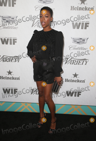 Samira Wiley Photo - 15 September 2018 - West Hollywood California - Samira Wiley Variety and Women in Film 2018 Television Nominees Celebration sponsored by Cadillac and Heineken held at Cecconis Photo Credit Faye SadouAdMedia