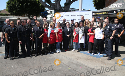 Kate Linder Photo - 06 September 2018-  Hollywood California - Ellen K Anglica Mara Angelica Vale Tai Babilonia Kate Linder Catherine Bach Erin Murphy Mitch OFarrell Deputy Chief Armando Hogan Leron Gubler Guests Hollywood Chamber Of Commerces 24th Annual Police and Firefighter appreciation Day held at LAPD Hollywood Division Photo Credit Faye SadouAdMedia