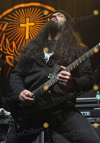 Anthrax Photo - 08 February 2011 - Youngstown OH - Guitarist ROB CAGGIANO (of the 80s thrash metal band ANTHRAX fame) performs with his new heavy metal supergroup THE DAMN THINGS at a stop on the Jagermeister Music Tour 2011 held at the Covelli Centre Photo Credit Jason L NelsonAdMedia