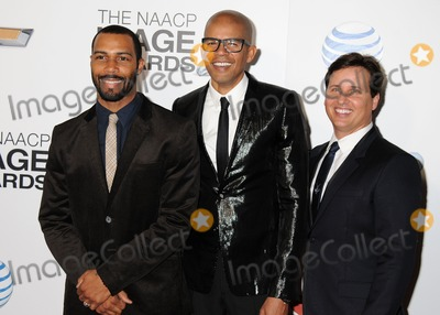 Andrew Logan Photo - 1 February 2013 - Los Angeles California - Omari Hardwick Aaron Walton Andrew Logan 44th NAACP Image Awards - Arrivals held at the Shrine Auditorium Photo Credit Byron PurvisAdMedia