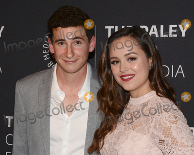 Hayley Orrantia Photo - 17 October 2017 - Beverly Hills California - SAM LERNER and HAYLEY ORRANTIA Paley Center For Media Presents The Goldbergs 100th Episode Celebration held at The Paley Center for Media Photo Credit Billy BennightAdMedia