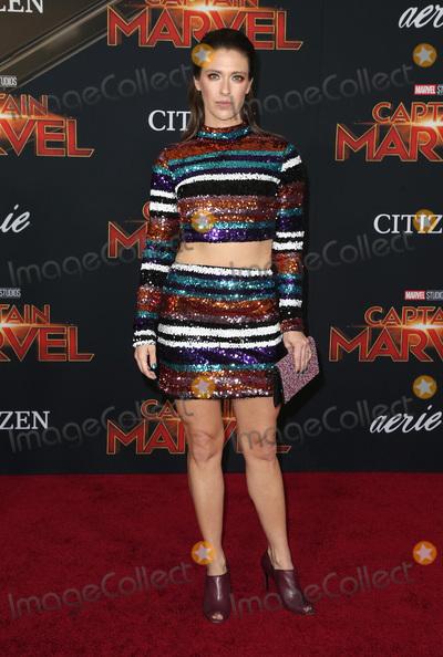 Natasha Halevi Photo - 04 March 2019 - Hollywood California - Natasha Halevi Captain Marvel Los Angeles Premiere held at El Capitan Theater Photo Credit Faye SadouAdMedia