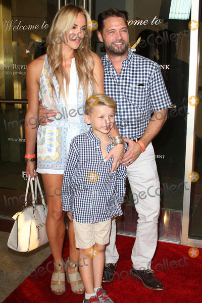 Jason Priestley Photo - 27 July 2016 - Los Angeles California - Jason Priestley with wife Naomi Lowde-Priestley and son Dashiell Priestley Raising The Bar To End Parkinsons Fundraiser held at Laurel Point in Studio City Photo Credit AdMedia