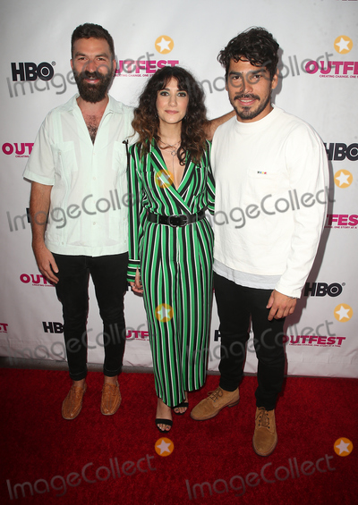 Jeremiah Zagar Photo - 12 July 2018 - Los Angeles California - Jeremiah Zagar Sheila Vand Ral Castillo  2018 Outfest Los Angeles LGBT Film Festival Opening Night Gala of STUDIO 54 at the Orpheum Theatre Photo Credit F SadouAdMedia