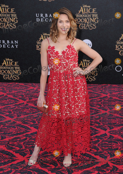 Alison Holker Photo - 24 May 2016 - Hollywood California - Alison Holker Arrivals for the Premiere Of Disneys Alice Through The Looking Glass held at El Capitan Theater Photo Credit Birdie ThompsonAdMedia