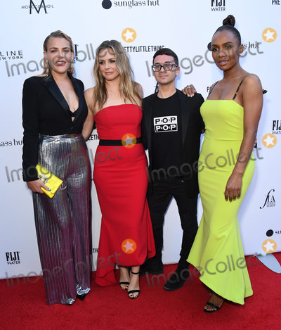 Alicia Silverstone Photo - 17 March 2019 - Hollywood California - Busy Philipps Alicia Silverstone Christian Siriano Janet Mock The Daily Front Rows 5th Annual Fashion LA Awards held at The Beverly Hills Hotel Photo Credit Birdie ThompsonAdMedia