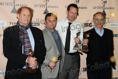 Arnold Messer Photo - 26 February 2011 - Santa Monica California - Mike Medavoy Scott Franklin Brian Oliver and Arnold Messer 2011 Film Independent Spirit Awards - Press Room held at Santa Monica Beach Photo Byron PurvisAdMedia
