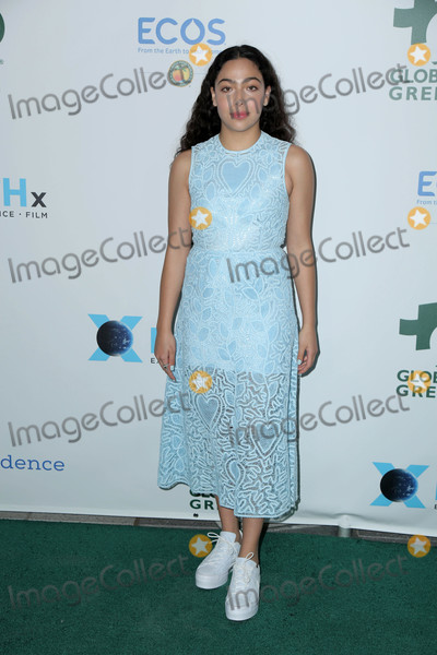 Allegra Acosta Photo - Allegra Acostaat 15th annual Global Green Pre-Oscar Gala NeueHouse Los Angeles CA 02-28-18
