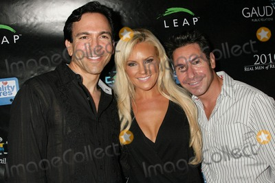 Todd Michael Krim Photo - William Dorfman with Bridget Marquardt and Todd Michael Krimat the Reality Cares Leap Foundation Benefit Sunstyle Tanning Studio West Hollywood CA 08-06-09