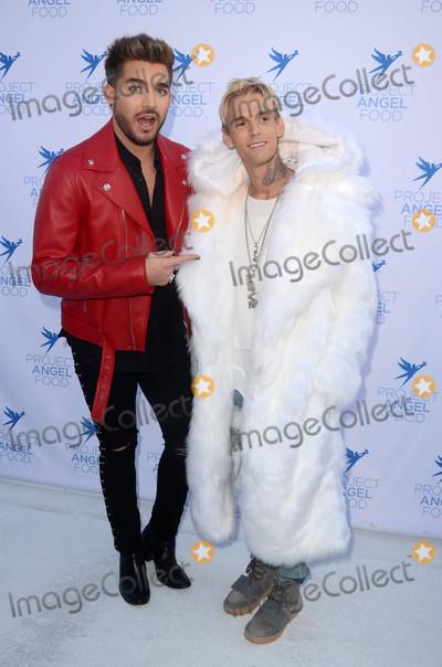 Adam Lambert Photo - Aaron Carter Adam Lambertat the Project Angelfood 2017 Angel Awards Gala Project Angelfood Los Angeles CA 08-19-17