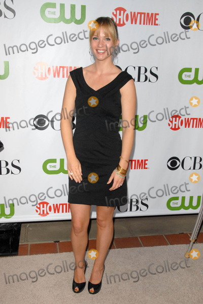 AJ Cook Photo - AJ Cook at the CBS CW and Showtime All-Star Party Huntington Library Pasadena CA 08-03-09