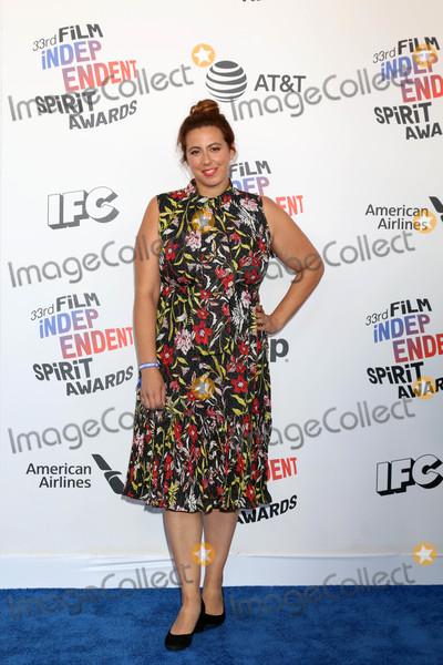 Jordana Mollick Photo - Jordana Mollickat the 2018 Film Independent Spirit Awards Santa Monica Beach Santa Monica CA 03-03-18