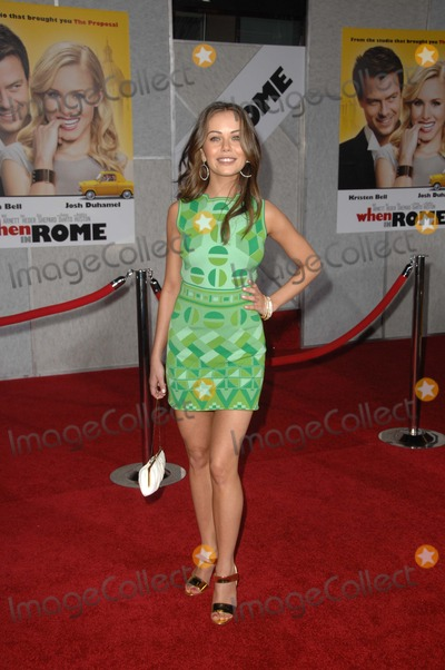 Alexis Dziena Photo - Alexis Dziena at the When In Rome World Premiere El Capitan Theatre Hollywood CA 01-27-10