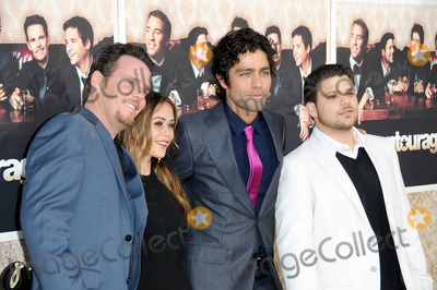 Alexis Dziena Photo - Kevin Dillon and Alexis Dziena with Adrian Grenier and Jerry Ferrara at the Los Angeles Premiere of Entourage Season Six Paramount Theater Hollywood CA 07-09-09