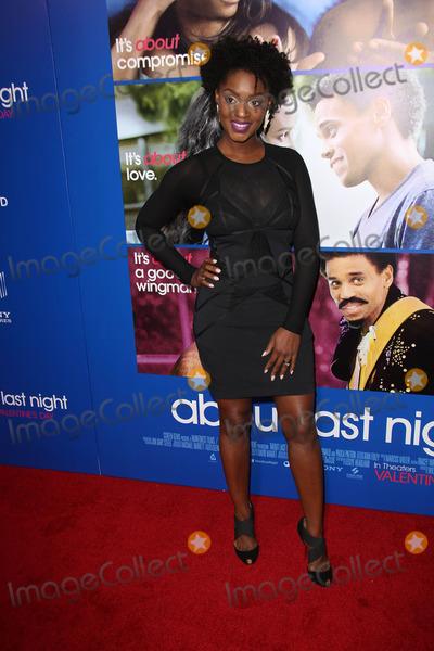 Yaani King Photo - Yaani Kingat the About Last Night Los Angeles Premiere Arclight Hollywood CA 02-11-14