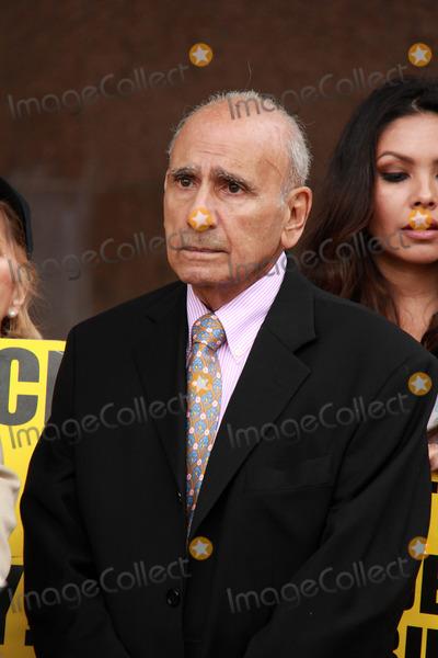 Casey Kasem Photo - Mouner Kasemat Casey Kasems Family Press Conference Stanley Mosk Courthouse Los Angeles CA 01-30-15