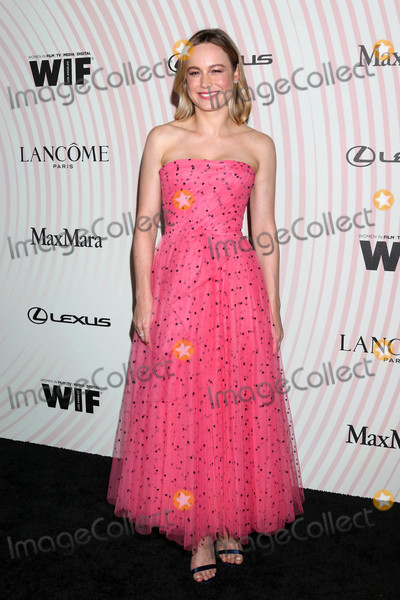 Brie Larson Photo - Brie Larsonat the Women In Film 2018 Crystal  Lucy Awards Beverly Hilton Hotel Beverly Hills CA 06-13-18