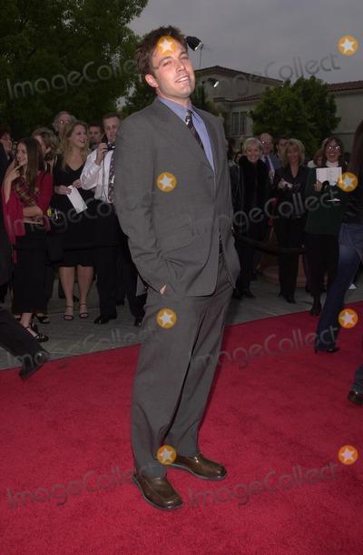 Ben Affleck Photo - Ben Affleck at the premiere of Paramounts Changing Lanes at Paramount Studios 04-07-02