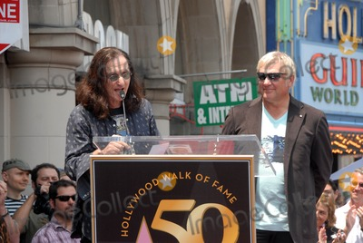 Alex Lifeson Photo - Geddy Lee and Alex Lifeson at the induction ceremony for RUSH into the Hollywood Walk of Fame Hollywood CA 06-25-10