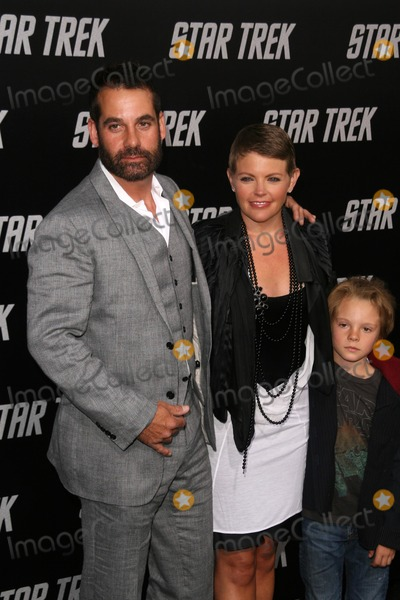 Adrian Pasdar Photo - Adrian Pasdar with Natalie Maines and their son at the Los Angeles Premiere of Star Trek Graumans Chinese Theatre Hollywood CA 04-30-09