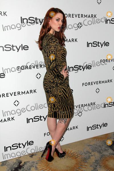 Alexandra Breckenridge Photo - Alexandra Breckenridgeat the Forevermark And InStyle Golden Globes Event Beverly Hills Hotel Beverly Hills CA 01-10-12