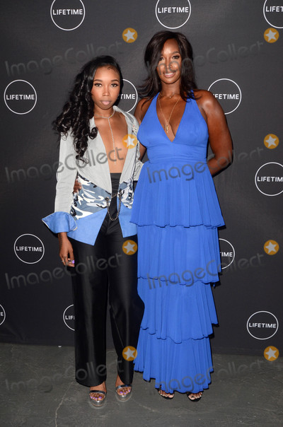 Beverly Peele Photo - Cairo Peele Beverly Peeleat the Growing Up Supermodel Premiere Private Estate Studio City CA 08-16-17